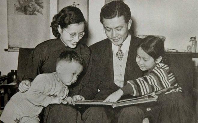 gia đình Tôn Vận Tuyền - cựu thủ tướng Đài Loan